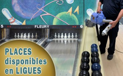 Places disponibles en ligues au Fleury